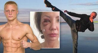 Kickboxer přerážel partnerce kosti v obličeji. Nechtělo se jí k plotně!