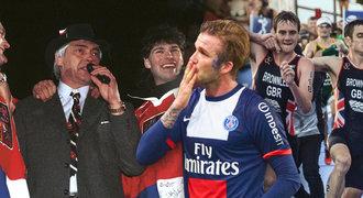 7 největších dojáků historie sportu. Nagano, Beckham i brazilská potupa