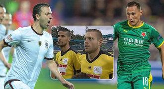 Zvláštní dresy na ven: zelená Slavia, sešívaná Sparta i další divočina