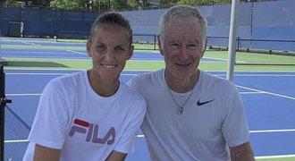 Nový kouč? Plíšková ladí formu na US Open. Lekce od legendy!