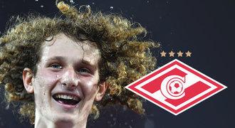 Spartak Moskva přesvědčil Slavii. Za Alexe Krále dává přes 300 milionů