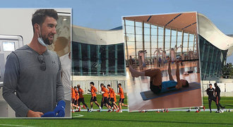 Trénuje tu Ronaldo, Salah i Djokovič. Jak to vypadá v nej areálu světa?