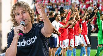 Nedvěd: Slavia v Lize mistrů není bez šance. Sarri mi ji hodně chválil