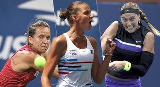 Čeští tenisté se v New Yorku nepředvedli, přesto... Jedenáct milionářů!