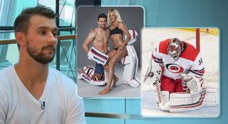 Brankář Mrázek o nálepce machýrka: Bez sebevědomí bych nebyl v NHL