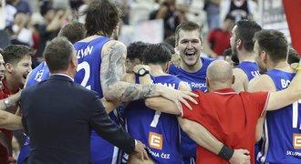 Fantazie! Čeští basketbalisté jsou ve čtvrtfinále MS. Čeká je Austrálie