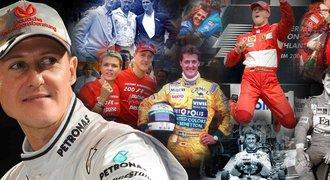 Tajný převoz Schumachera na kliniku: tělo měl zakryté, jde o jeho srdce?!