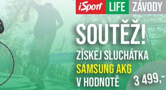 Přihlaste se už teď na iSport LIFE závod a získejte sluchátka v hodnotě 3499 korun!