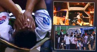 Fotbalista trpěl v bolestech a saniťák zmizel. Hráče odvezli v kufru!