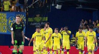 Villarreal se rozstřílel v závěru. Betisu dal pět gólů a je pátý