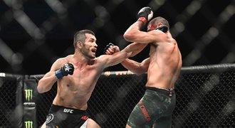 Muradov slaví výhru v UFC: Bojoval jsem jako tygr, i když jsem už nemohl