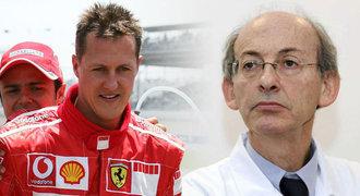 Schumacherův doktor promluvil o naději: Neexperimentuji. Léčím!