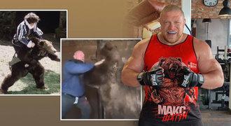 Šílený ruský zápasník MMA: Rval se s medvědem jako princ z pohádky!
