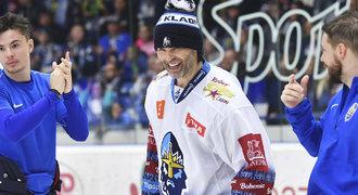 SESTŘIH: Kladno - Liberec 5:3. Úžasný Jágr! Dvěma góly utnul sérii Tygrů
