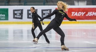Eliška Březinová je na začátku sezony hodně nervózní, pomohl jí Sabovčík