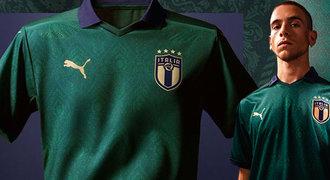Konec modré?! Itálie po 65 letech oblékne zelený dres, značí renesanci