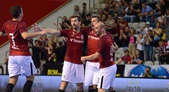 Futsalová Sparta v Lize mistrů opět vyhrála, postupuje do elitní fáze