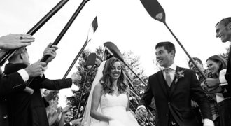 Prskavec o svatbě: Měli jsme špalír z pádel, snad moc lidí nechtělo fotku s Krpálkem