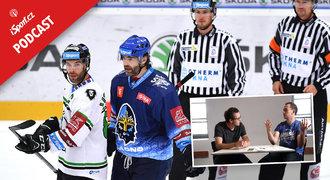 iSport podcast hokej: Diskutér Jágr, gól negól a chudáci rozhodčí