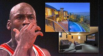 Slavný Jordan prodává »chatičku«. Stojí jako roční plat Satoranského!