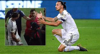 Zlatan ukázal podivné gesto: Pokud odejdu, nikdo nebude vědět, co je MLS