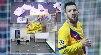 Bordeláři z Barcelony? V šatně polili i zdi, popsal Bořil. Messi se mu vysmál