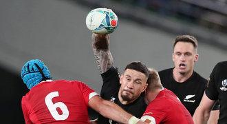 Bronzová náplast pro All Blacks. Ragbisté Nového Zélandu jasně porazili Wales