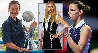 České tenistky letos vydělaly balík! Kolik milionů si vypinkaly Plíšková a spol.?