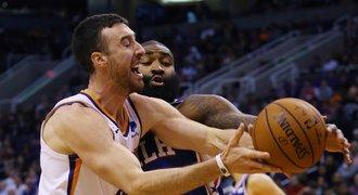 Philadelphia jako poslední v sezoně NBA prohrála, padla ve Phoenixu