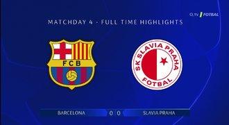 SESTŘIH: Barcelona – Slavia 0:0. Skvělý bod! Gólům bránily ofsajdy i tyč