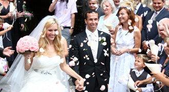 Tenisová svatba! Štěpánek si vzal Vaidišovou