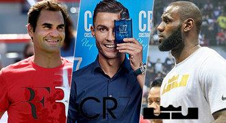 Oblečení Rogera Federera v ohrožení. Air Jordan i Beckham stále jedou