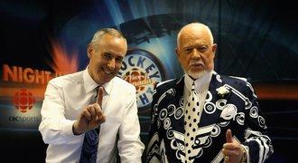 Rozruch v NHL! Vyhodili legendárního moderátora, mluvil o imigrantech