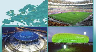 Města a stadiony EURO 2020: Kde mohou hrát Češi a kdo už má jasno?