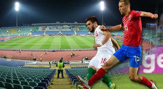 Smutný fotbal vBulharsku. Česko před prázdnými tribunami, domácí v krizi