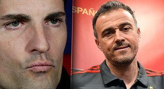 Postoupil, končí! Moreno cítí zradu, Španělsko řeší rošádu s Enriquem