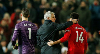 Rashford pokazil Mourinhův návrat, Liverpool hladce ovládl derby
