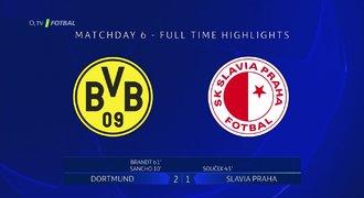 SESTŘIH: Dortmund – Slavia 2:1. Loučení se ctí, sešívané vychytal Bürki