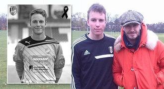 Chytal za Plzeň, fotil se s Beckhamem. Mladý brankář tragicky zemřel