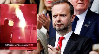 Peklo pro šéfa United. Ohnivý útok na dům, viníky čeká doživotní zákaz