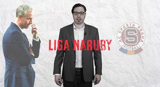 Liga naruby: Jílkův poslední rozhovor, hořící šály Slavie i oslava Baníku