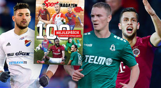 TOP 100 ligových fotbalistů: mistr přihrávek, formule 1 i rozvážný filozof
