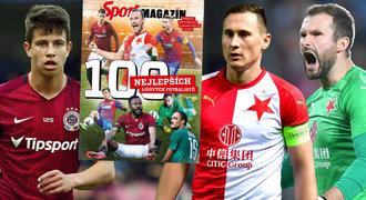 TOP 100 ligových fotbalistů: profesor, super klenot i objev. A vítězem je...