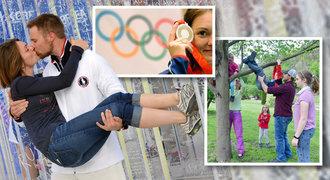 Jak se měnila střelkyně Emmons: medaile, láska a rostoucí rodina