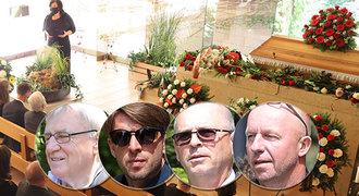 Sbohem, »Newmane«. Fotbalové osobnosti se loučily s Jaroslavem Švachem (†47)!