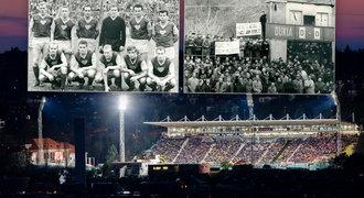 Juliska slaví 60 let. Příběh stadionu Dukly, kam chodilo i 30 tisíc lidí