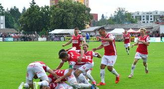 ONLINE: Pardubice - Vyšehrad 3:1. Dvě penalty přibližují domácí postup