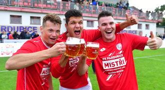 Pardubice – Vyšehrad 4:1. Dvě penalty a postup, Východočeši jsou vlize