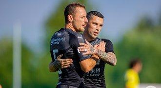 Slavia - Fehérvár 3:1. Velký obrat po přestávce, zápas skončil potyčkou