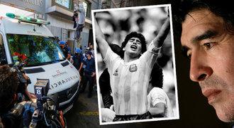 Smrt fotbalového génia! Maradona (†60) podlehl srdečnímu selhání